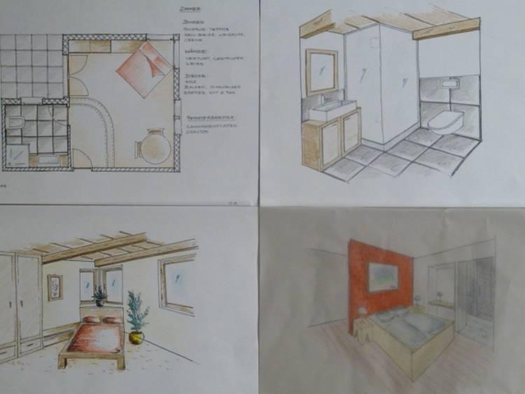 Zeichner in efz gewerbeschule samedan ausbildung berufe for Innenarchitektur kurse